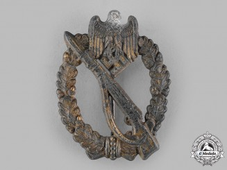Germany, Wehrmacht. An Infantry Assault Badge, Bronze Grade