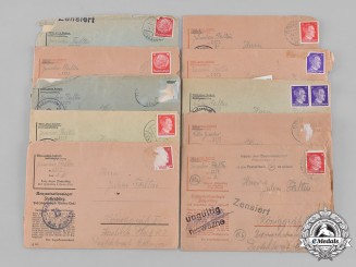 Germany, Third Reich. A Group of Letters from Jaroslav Faltus to Julius Faltus