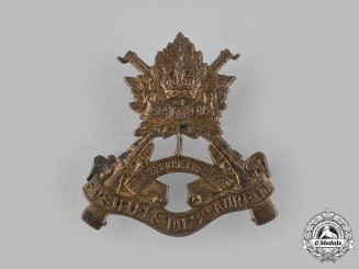 Canada. A Fusiliers de St. Laurent Cap Badge, c.1940