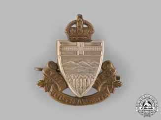 Canada. A South Alberta Regiment Cap Badge, c.1940