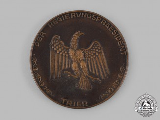 Germany, Weimar Republic. An Unissued Trier Table Medal