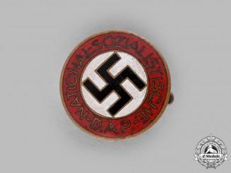 Germany, NSDAP. A Membership Badge by Hermann Aurich