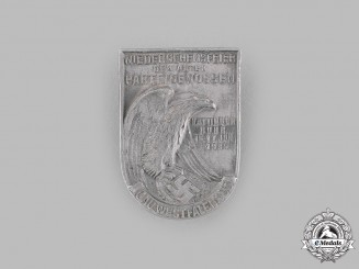 Germany, NSDAP. A 1935 Old Fighters South Westphalia Reunion Badge by Richard Sieper & Söhne