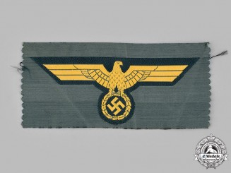 Germany, Heer. A Coastal Artillery EM/NCO's Breast Eagle