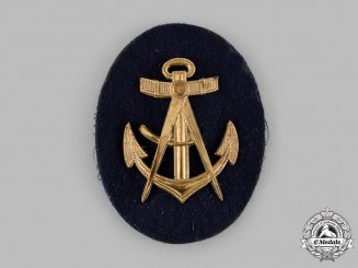 Germany, Kriegsmarine. An EM/NCO Carpenter's Specialist Insignia