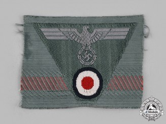 Germany, Heer. An EM/NCO's Trapezoid Cap Insignia