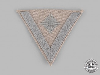 Germany, Heer. A Obergefreiter Drill Uniform Sleeve Insignia