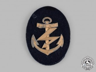 Germany, Kriegsmarine. An EM/NCO's Radio Operator's Specialist Sleeve Patch
