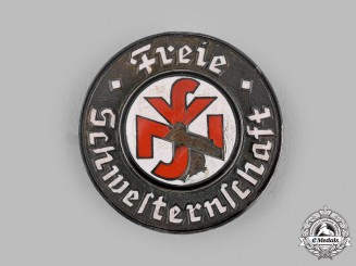 Germany, NSV. A National Socialist People's Welfare (NSV) Sisterhood Membership Brooch