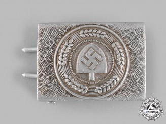 Germany, RAD. A Reich Labour Service (RAD) EM/NCO's Belt Buckle by Richard Sieper & Söhne