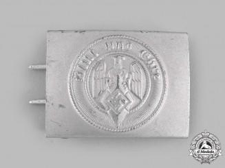 Germany, HJ. An EM/NCO's Belt Buckle by Hillenbrand & Bröer