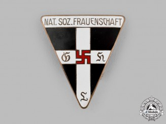 Germany, NSDAP. A National Socialist Women's League (NS-Frauenschaft) Membership Badge
