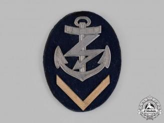 Germany, Kriegsmarine. An EM/NCO Senior Radio Operator's Specialist Insignia