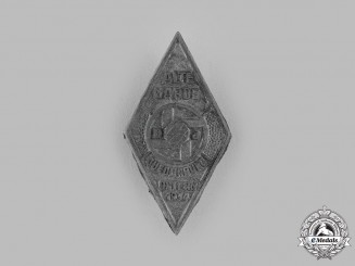 Germany, DJ. A 1934 Deutsches Jungvolk (DJ) Easter Badge