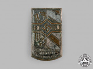 Germany, HJ. A 1933 Nuremberg Meeting Badge