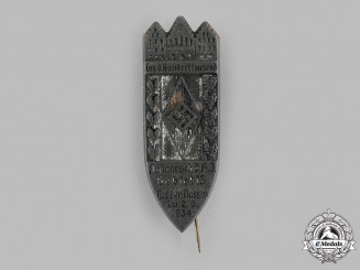Germany, HJ. A 1934 HJ Hessen-Nassau Deployment Stick Pin