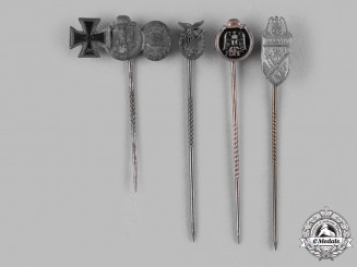 Germany, Wehrmacht. A Lot of Wehrmacht Stick Pins