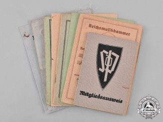 Germany. A Group of Identification Documents