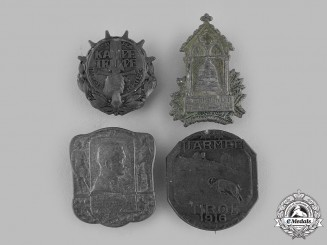 Austria-Hungary, Empire. A Lot of Austro-Hungarian Cap Badges
