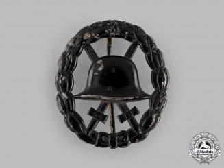 Germany, Imperial. A Wound Badge, Black Grade. Cut-Out Version