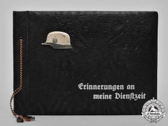 Germany, Third Reich. A Private Wartime Photo Album Belonging to Obergefreiter Josef Peroutka