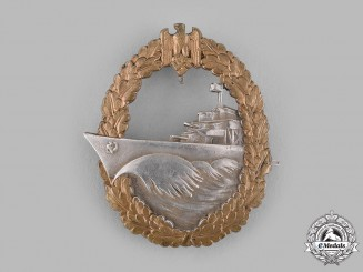 Germany, Kriegsmarine. A Destroyer War Badge, by Schwerin