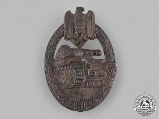 Germany, Wehrmacht. A Panzer Assault Badge, Bronze Grade