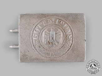 Germany, Heer. An EM/NCO's Belt Buckle by Paul Cramer & Co.