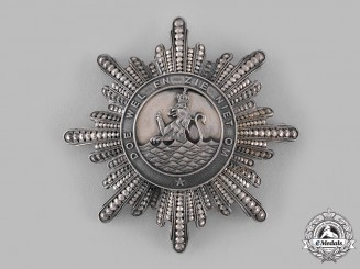 Netherlands, Kingdom. A Royal Order of Holland, Grand Cross Star, c.1880