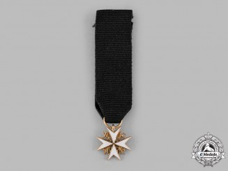 United Kingdom. An Order of St. John, Miniature in Gold