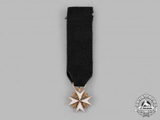 United Kingdom. An Order of St. John, Miniature in Gold