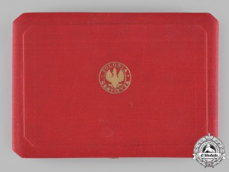"Poland, Republic. An Order of Polonia Restituta ""Poland Restored"", I Class Grand Cross Case"