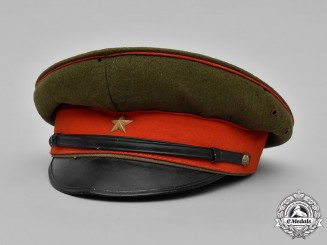 Japan, Imperial. An Imperial Japanese Army Officer's M38 Visor Cap