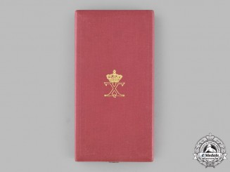 Greece, Kingdom. A Royal Order of George I, II Class Grand Officer Case