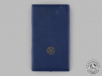 Finland, Republic. An Order of the White Rose, I Class Grand Cross Case, by A.Tillander