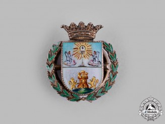 Spain, Franco Period. A Miniature Lugo's City Shield c.1960