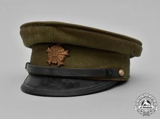 Japan, Imperial. An Imperial Japanese Army EM/NCO's Visor Cap, c. 1920