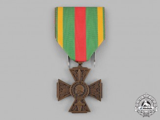 France, III Republic. A Volunteer Combatant's Cross 1914-1918