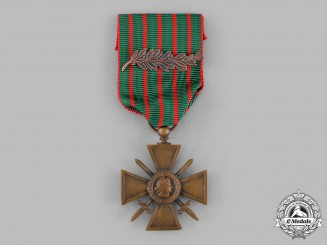 France, III Republic. A War Cross 1914-1918
