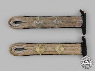 Germany, Kriegsmarine. A Set of Oberfähnrich Shoulder Boards