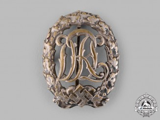 Germany, DRL. A Sports Badge, Silver Grade, by Hermann Wernstein