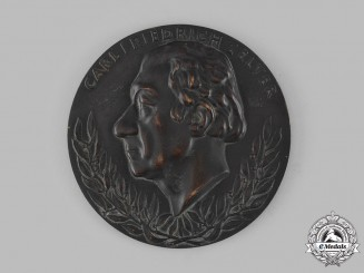 Germany, Third Reich. A Large Carl Friedrich Zelter Bronze Plaque