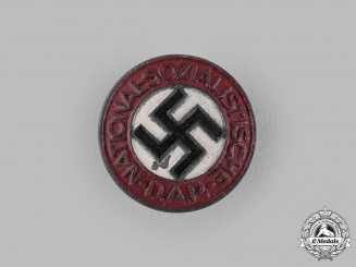 Germany, NSDAP. A Membership Badge by Carl Poellath