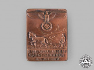 Germany, NSDAP. A 1939 NSDAP Sangerhausen Meeting Badge