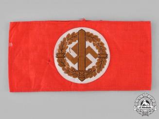 Germany, SA. A Sturmabteilung (SA) Wehrmannschaft Armband