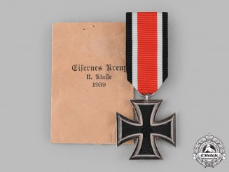 Germany, Wehrmacht. A 1939 Iron Cross II Class by S. Jablonski & Co.
