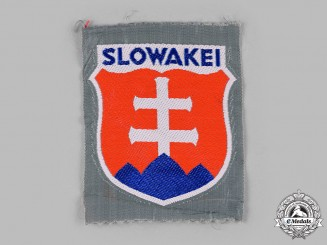 Germany, Heer. A Rare Slovakian Volunteer Arm Shield