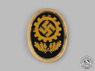 Germany, DAF. A German Labour Front (DAF) Cap Badge