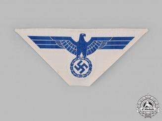 Germany, Kriegsmarine. An EM/NCO's Summer Uniform Breast Eagle