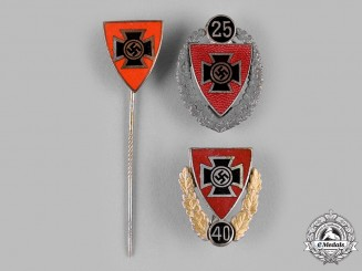 Germany, Kyffhäuserbund. A Lot of Kyffhäuserbund (Kyffhäuser League) Veterans Badges
